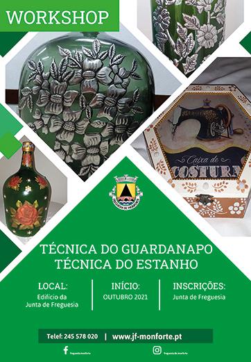 Workshop Técnica Guardanapo e Técnica do Estanho