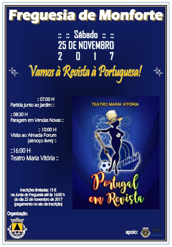 """VAMOS À REVISTA À PORTUGUESA - """"PORTUGAL EM REVISTA"""""""