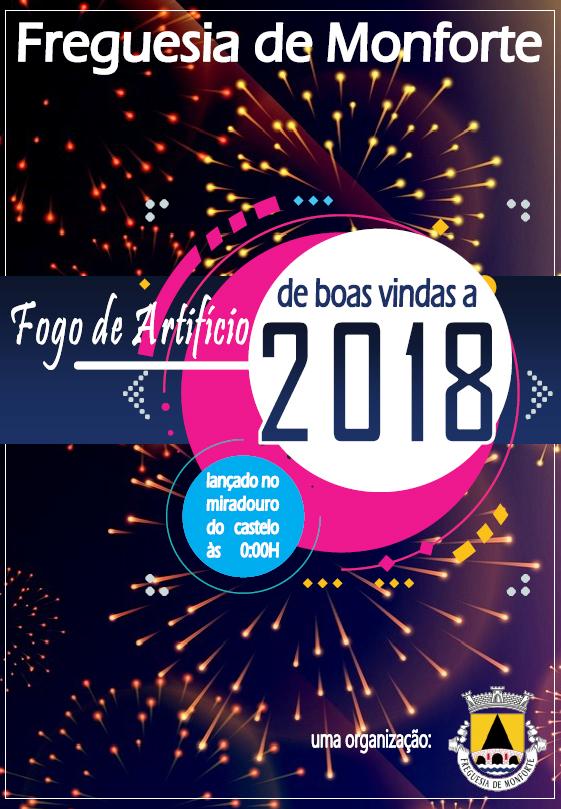 Fogo Artifício Boas Vindas 2018