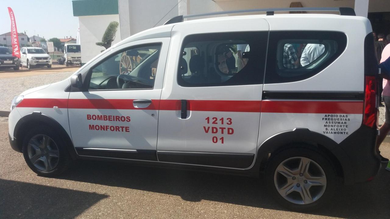 Entrega e bênção de novo veículo aos B.V. Monforte