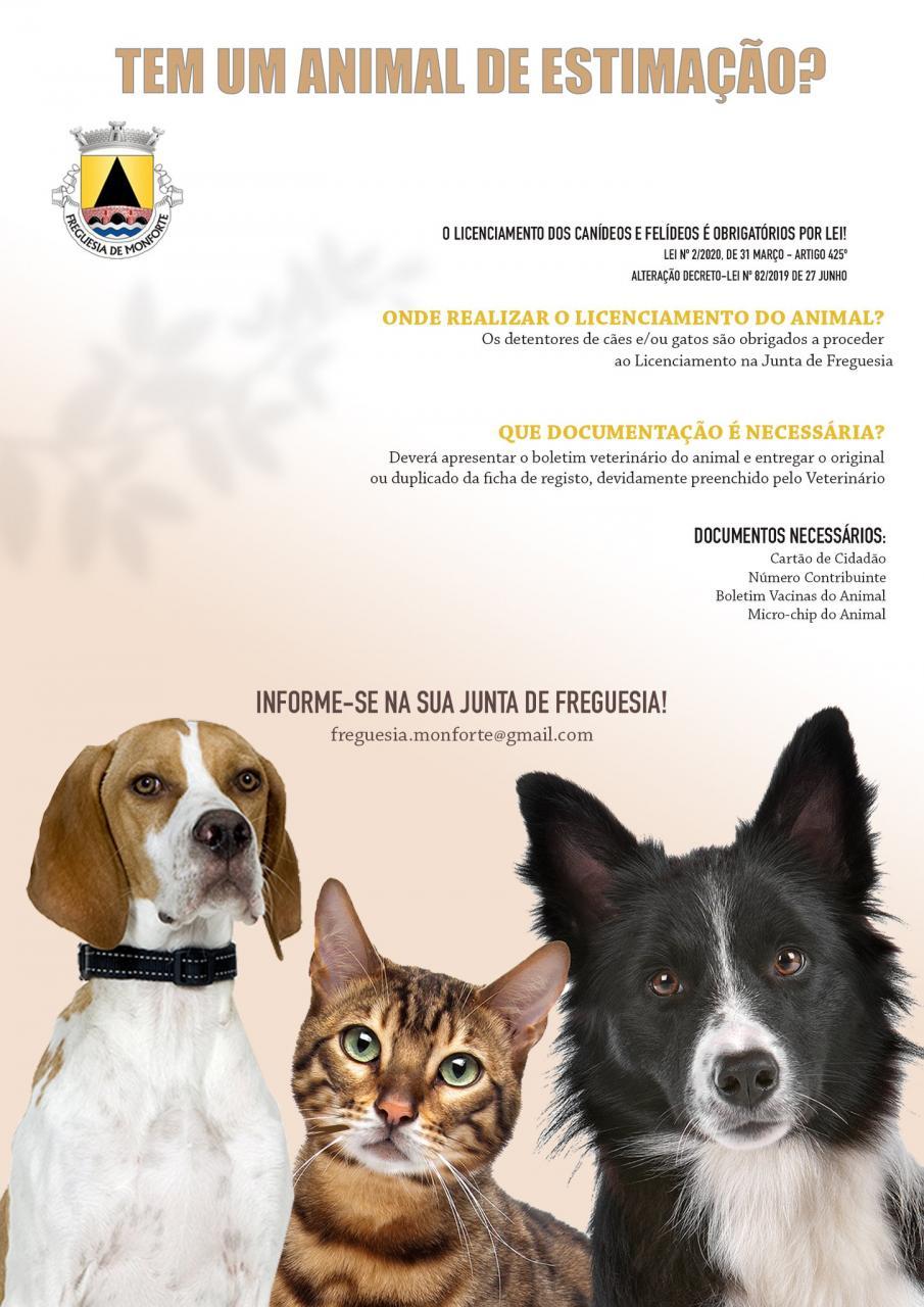 Licenciamento de Canídeos e Felídeos