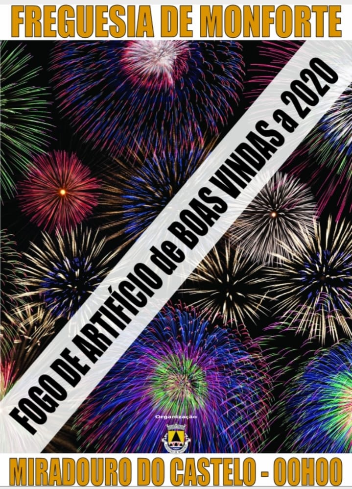 Fogo Artifício Boas Vindas 2020